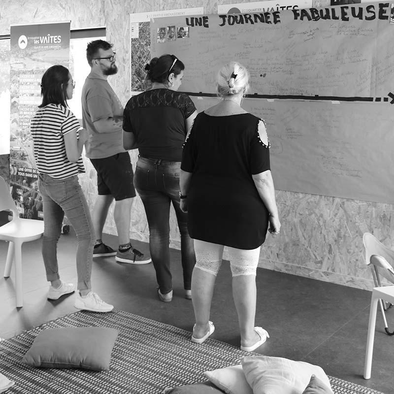 À Besançon, les usagers co-créent leur futur Groupe Scolaire
